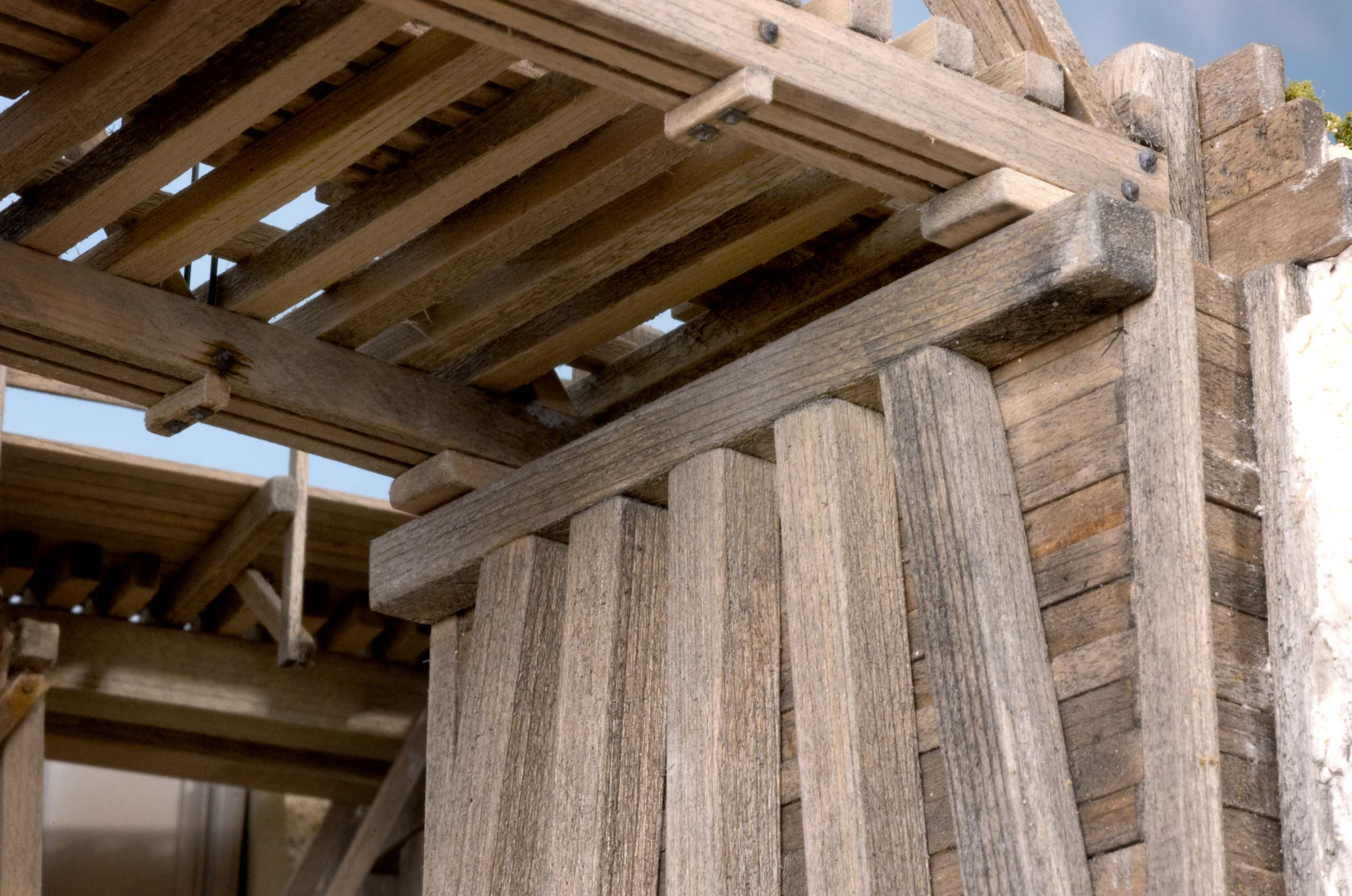 Image Result For Trestle Wood Beams